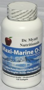 Maxi Marine High Potency Omega-3 Essential Fatty Acids